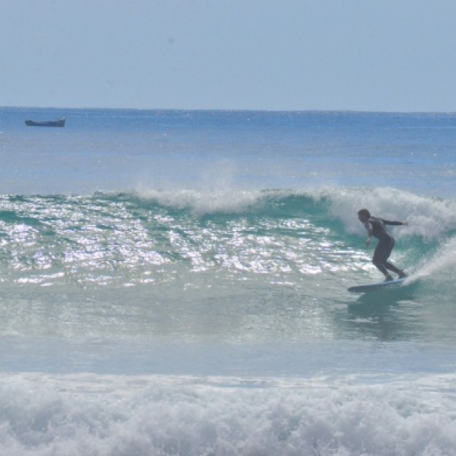 Surf report photo of Taghazout